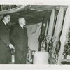 Y.A. Paloheimo and Herbert Hoover inspecting propellers