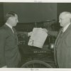 Hall of Invention - Conway Coe showing Harvey Gibson first patent ever issued