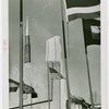 Hall of Pharmacy - Flags and side of building