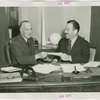 Heinz - Contract Signing - Howard Heinz and Grover Whalen