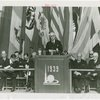 Hull, Cordell (Secretary of State) - Giving speech at Pan-American Day