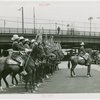 Indian (Native American) Participation - Haskell Institute Indian Honor Guard on horseback