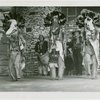 Indian (Native American) Participation - Hopi dancers with animal masks