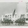 Indian (Native American) Participation - Haskell Institute guards on horseback