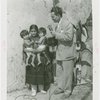 Indian (Native American) Participation - Hopi women with twin babies and announcer from Crosley Radio