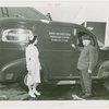 Infant Incubator - Martin Couney with nurse and ambulance