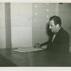 International Business Machines (IBM) - Grover Whalen signing proclamation