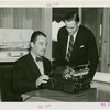 International Business Machines (IBM) - Grover Whalen using typewriter