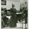 International Business Machines (IBM) - Lily Pons singing at concert