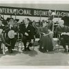 International Business Machines (IBM) - F.W. Nichol, Fiorello LaGuardia, Lawrence Tibbet, Lily Pons and Harvey Gibson at concert