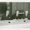 International Business Machines (IBM) - Watson, Thomas J. (President) - With Harvey Gibson signing contract while Walter Gifford looks on