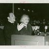 Jewish-Palestine Participation - Einstein, Albert - With Grover Whalen at podium