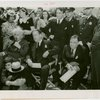 Jewish-Palestine Participation - Einstein, Albert - With Stephen S. Wise and Fiorello LaGuardia during dedication exercises