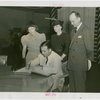 """Kentucky Day - Governor A.B. """"""""Happy"""""""" Chandler signing book"""