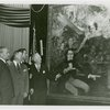 Kentucky Day - Governor Keen Johnson and group view portrait of Stephen Foster