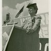 Labor - International Ladies Garment Workers Union - Eleanor Roosevelt speaking