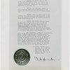 LaGuardia, Fiorello, H. - Signed proclamation