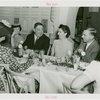 LaGuardia, Fiorello, H. - At dinner