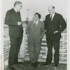 LaGuardia, Fiorello, H. - With John Moses (Governor of North Dakota) and Senator Lynn J. Frazier