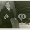 LaGuardia, Fiorello, H. - Speaking at luncheon