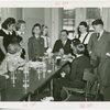 LaGuardia, Fiorello, H. - Children - At table
