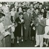 LaGuardia, Fiorello, H. - Children - Eating hotdogs