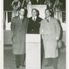 League of Nations - Grover Whalen, Arthur Sweetser and Charles Spofford