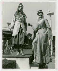 Lebanon Participation - Two Women in traditional dress