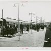 Long Island Rail Road Station - Crowd outside of train