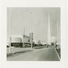 Lucky Strike - Building - Exterior with Trylon and Perisphere in picture