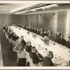 Luncheons and Dinners - Robert Kohn and others in Administration Building Boardroom