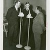 Luxembourg Participation - Prince Felix, Crown Prince Jean and Fiorello LaGuardia at microphones