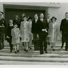 Luxembourg Participation - Prince Felix and family in front of Federal building