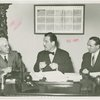 Man Building - Grover Whalen, William C. Segal and John Starbuck at contract signing