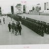 Massachusetts Day - Leverett Saltonstall surveying troops