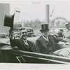 Massachusetts Day - Leverett Saltonstall in car with Dennis Nolan