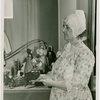 Massachusetts Day - Woman holding doll