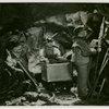 Medicine and Public Health - Diorama of men mining radium (Francis Rigney)