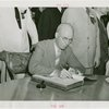 Nebraska Day - Roy Cochran signing guestbook