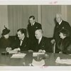New Jersey Participation - Grover Whalen signing contract with officials