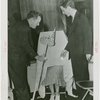 New Jersey Participation - Olga the Headless Woman broadcasting with two others