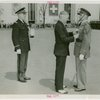 New Jersey Participation - Moore, Harry A. (Governor) - Pinning Distinguished Service Medal on Cortlandt Parker