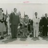 New Jersey Participation - Moore, Harry A. (Governor) - With Grover Whalen and others at New Jersey Day ceremonies
