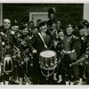 New Jersey Participation - Moore, Harry A. (Governor) - Beating drum with Cameron Pipers (Montclair)