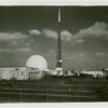 New York City - Building - View across roadway with Trylon and Perisphere in background
