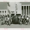 New York City - Police Dept. - Pushball game between Police and Fire Departments