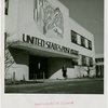New York World's Fair - Administrative Offices - Woman outside post office