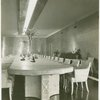 New York World's Fair - Administrative Offices - Board of Director's Room - Conference table
