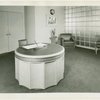 New York World's Fair - Administrative Offices - President's Office Reception Room - Desk and chairs