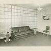 New York World's Fair - Administrative Offices - President's Office Reception Room - Couch and chair